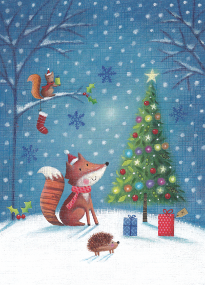 fox-and-tree-png
