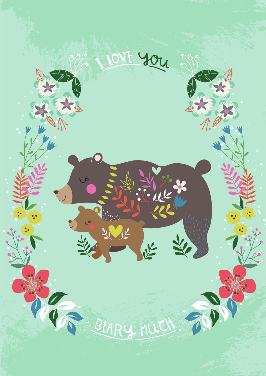 Bear and cub - Gina Maldonado.jpg