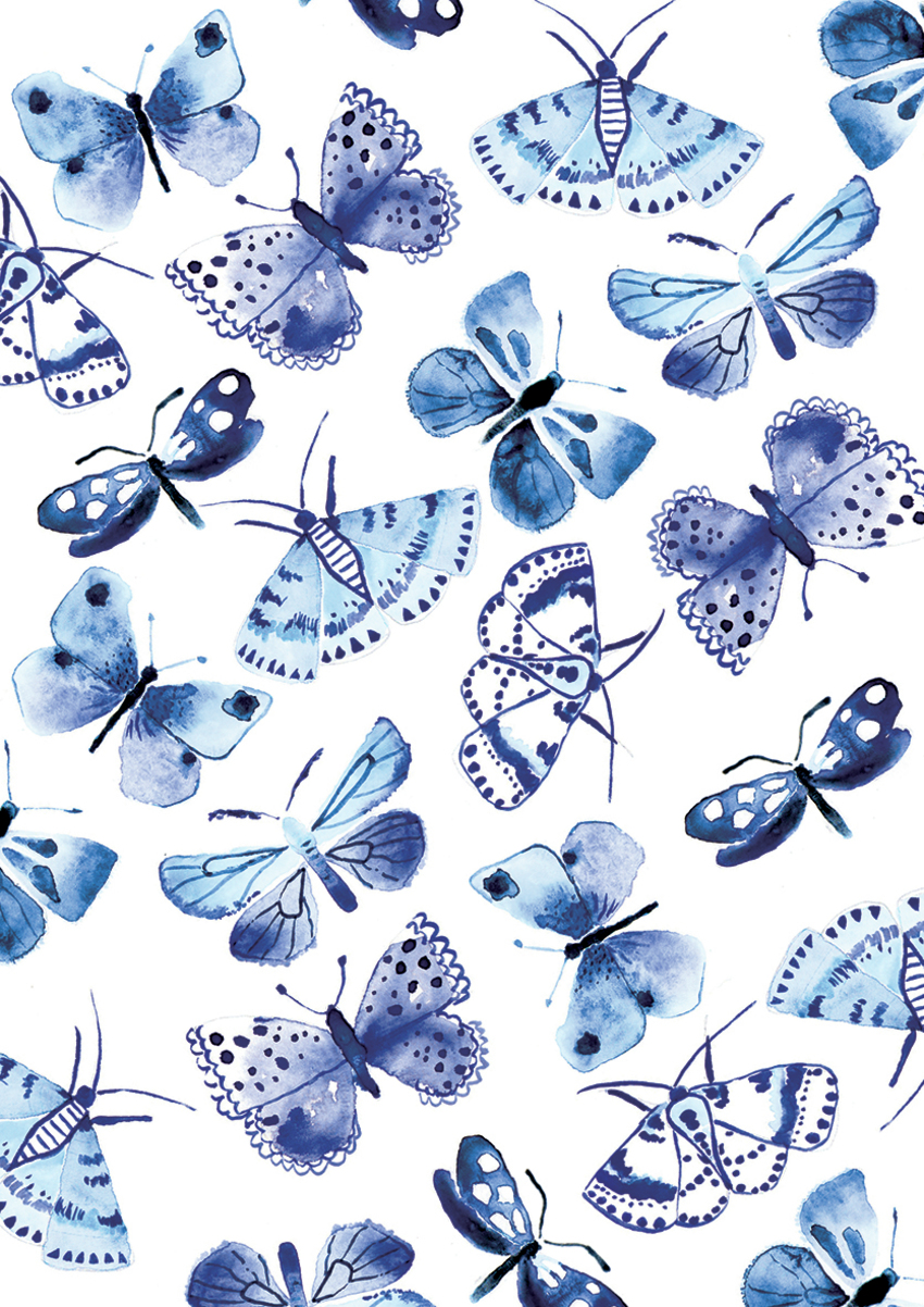 Blue butterflies - Gina Maldonado.jpg