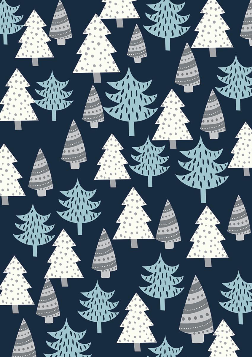 Contemporary Chrismas trees - Gina Maldonado.jpg