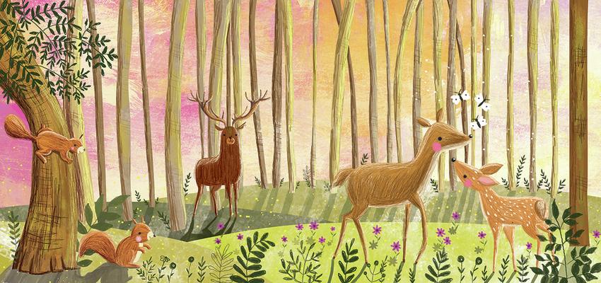 Deer in forest - Gina Maldonado.jpg