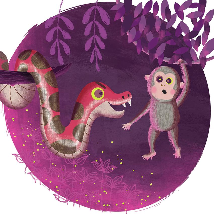 Kaa - the jungle book - Gina Maldonado.jpg