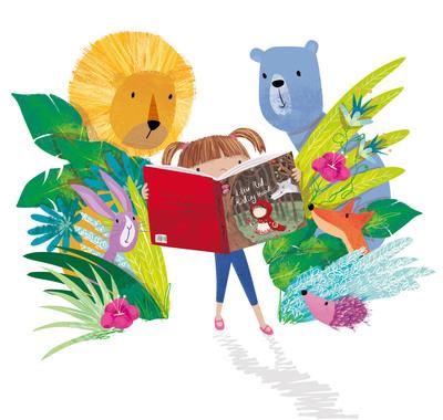 reading-outside-lion-bear-jpg