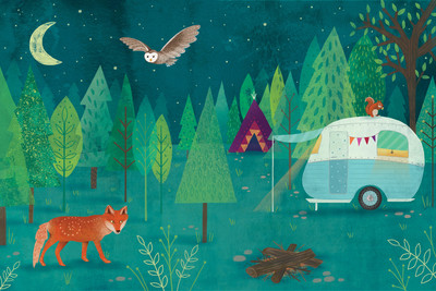 woodland-animals-fox-owl-squirrel-night-camping-caravan-book-spread-jpg