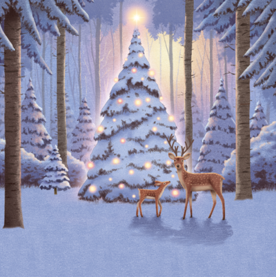 deer-and-tree-png