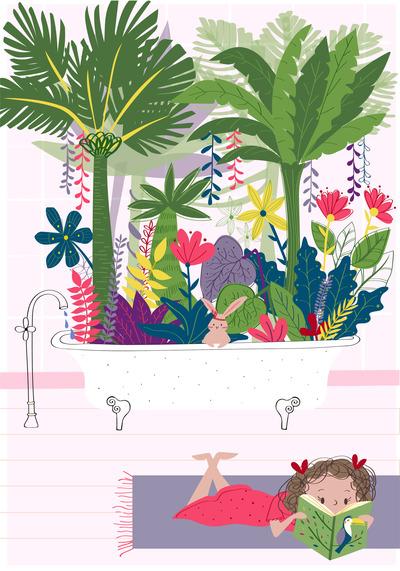 tropical-bathtub-girl-malulenzi-jpg