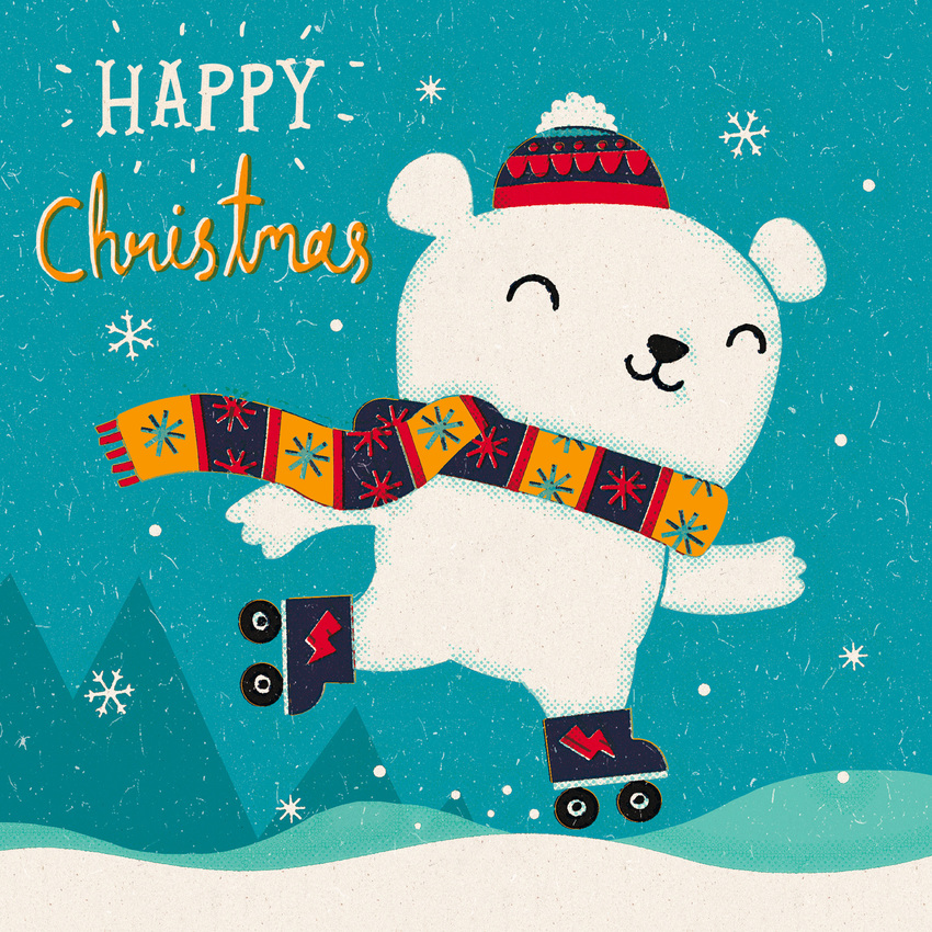 Cute Retro Polar Bear - MB.jpg