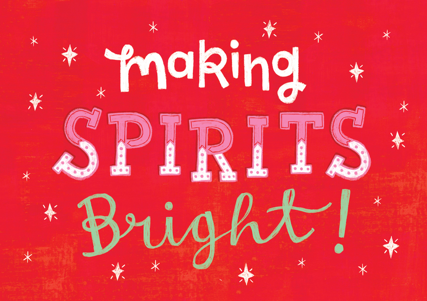 Louise Anglicas_christmas card typography spirits bright.jpg