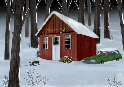 cabin-snow-car-trees-red-jpg