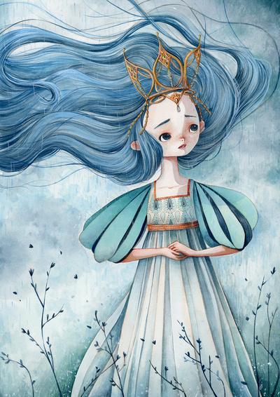 girl-princess-rain-blue-jpg