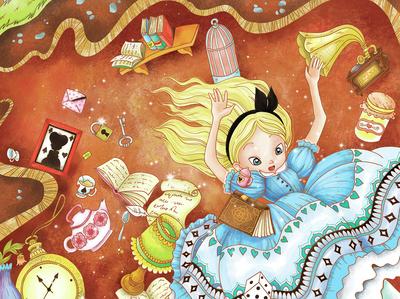 alice-wonderland-falling-rabbithole-jpg