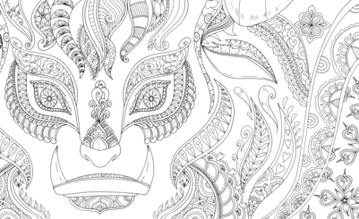 beast-decorative-coloring-jpg