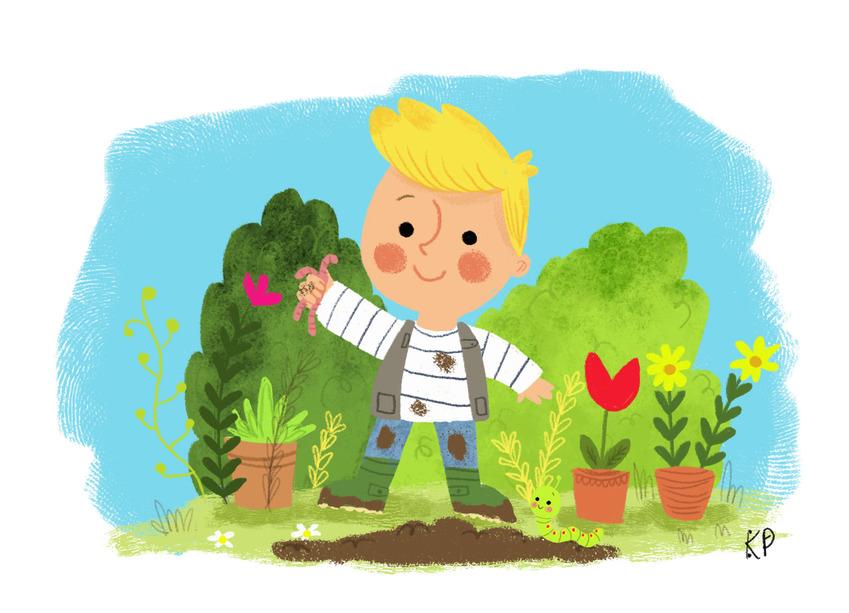garden boy worms dig.jpg