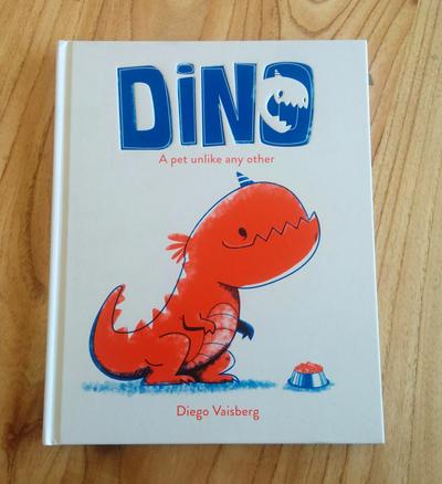 dino-book-trex-pet-childrensbook-cover-risograph-jpg