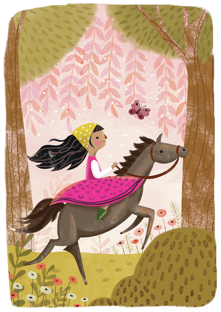 Girl galloping - Gina Maldonado.jpg