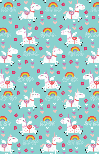 las-018-magical-unicorns-aqua-kids-birthday-giftwrap-repeat-jpg