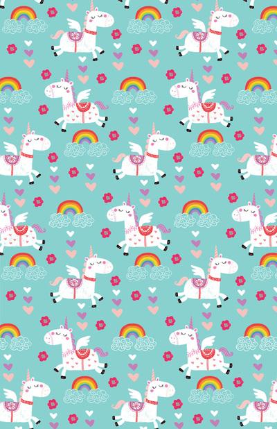 las-018-magical-unicorns-aqua-kids-birthday-giftwrap-repeat-jpg