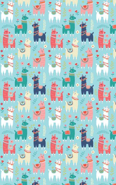 las-llama-repeat-birthday-giftwrap-jpg