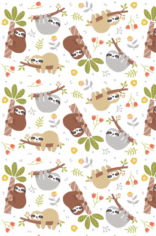 LAS_sloth kids design birthday giftwrap.jpg