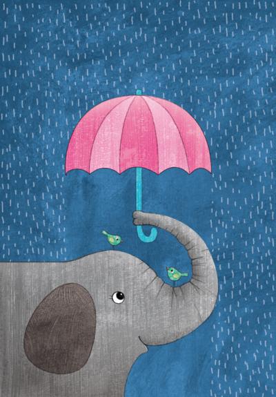 umbrella-elephant-png