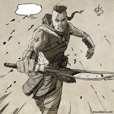 warrior-sword-forshortening-exersise-jpg
