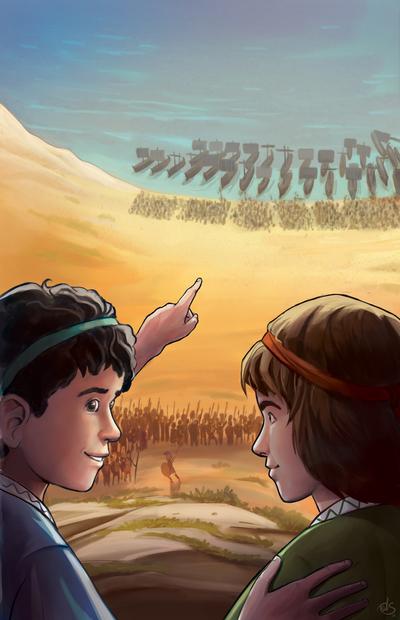 marathon-novel-cover-art-boys-watching-the-battle-jpg