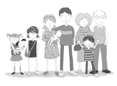 line-black-white-family-jpg
