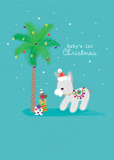 baby-donkey-with-christmas-tree-babies-1st-christmas-jpg