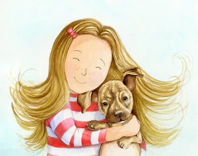 estelle-corke-girl-hug-puppy-available-jpg