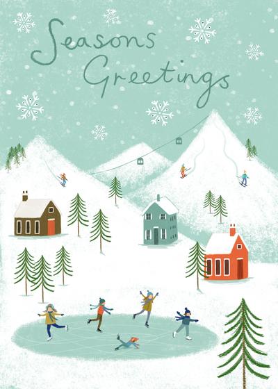 christmas-mountains-skaters-jpg