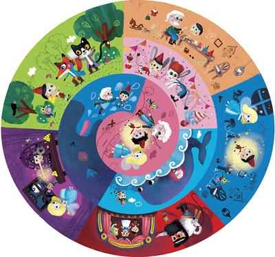 lic92764-pinocchioroundpuzzlefairytale-jpg