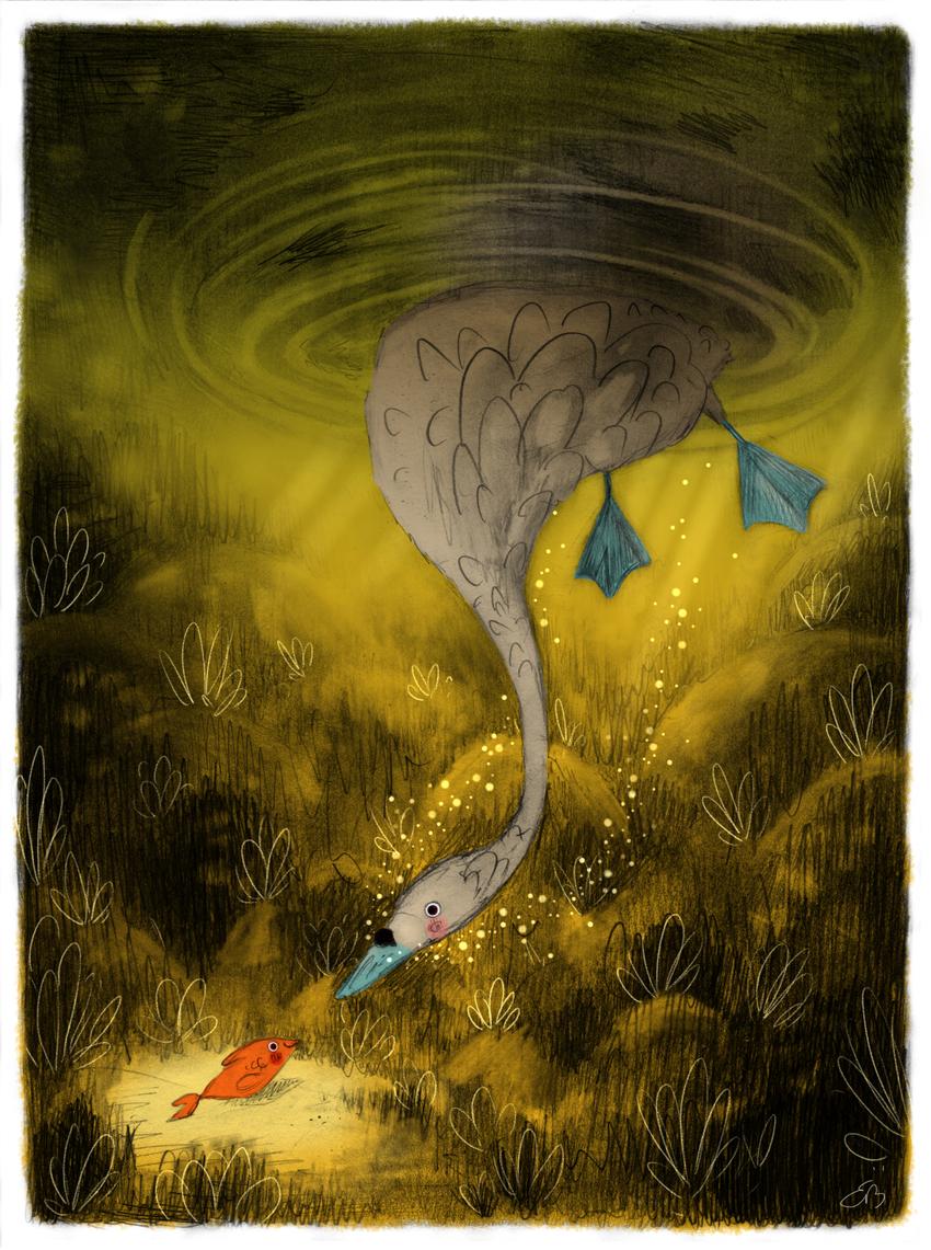 swan_fish_underwater_bubbles_dark_ErinBrown_lowres.jpg