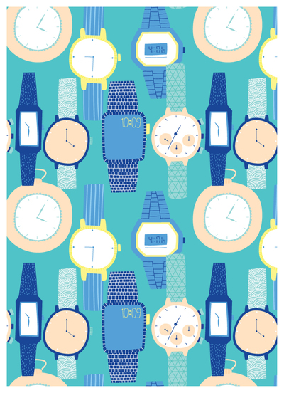 watches-time-digital-fobwatch-wristwatch-pattern-alice-potter-2016-01-jpg