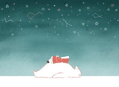 polar-bear-eskimo-night-stars-jpg