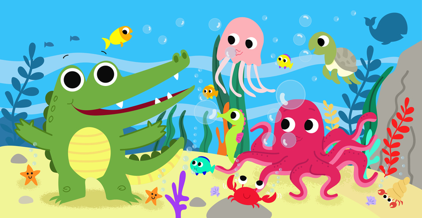 crocodile under sea bubbles play-01.jpg