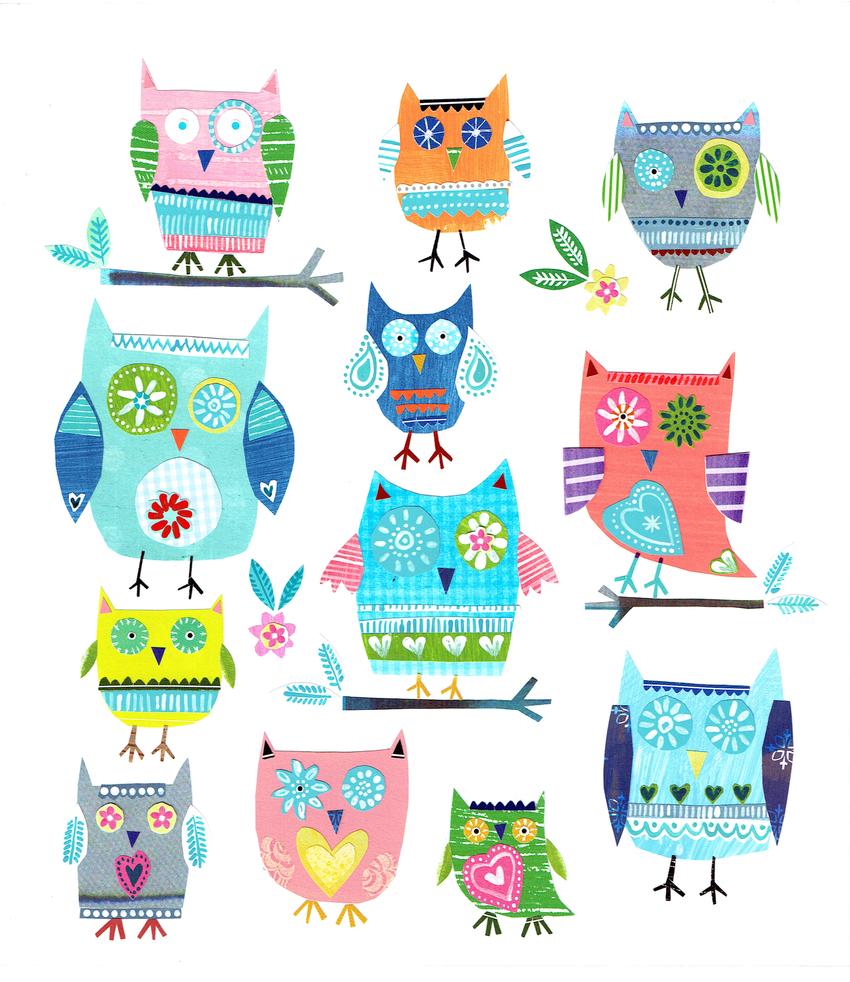L&K Pope - New available - Folk style Owls.jpg