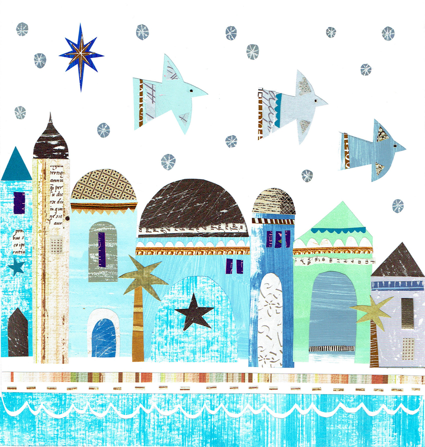 L&K Pope - New available - Nativity & 3 Doves.jpg