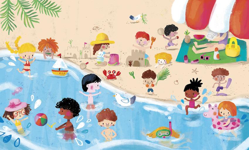 BK87596_First 100 words_09Beach_Kids_Sea.jpg