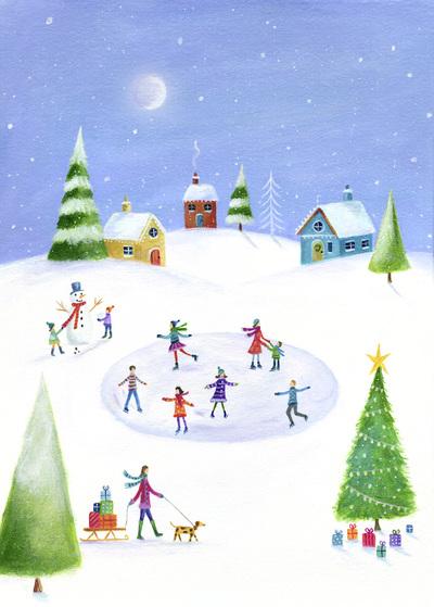 ileana-oakley-christmas-snow-scene-ice-skating-jpg