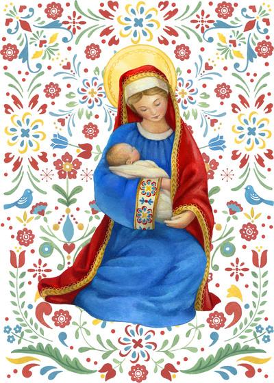 la-mary-and-child-folk-pattern-jpg