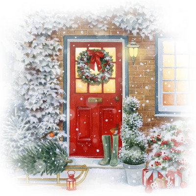 la-red-door-and-sleigh-jpg