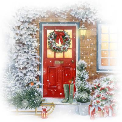 la-red-door-and-sleigh-jpg