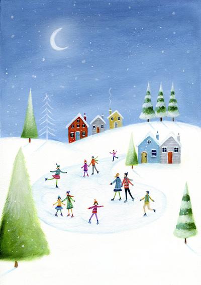 ileana-christmas-snow-scene-trees-ice-skating-jpg