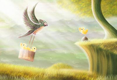 basket-chicks-parrot-jpg
