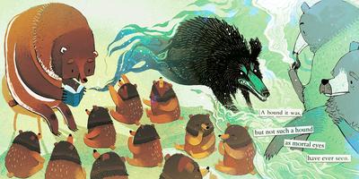 bear-cubs-reading-classroom-sherlock-holmes-png