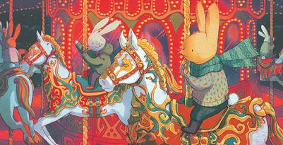 fairground-rabbit-merry-go-round-lights-bunny-jpg