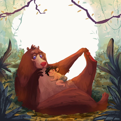 serena-lombardo-the-jungle-book-child-bear-friendship-jpg