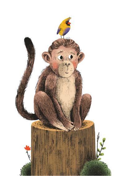 monkey-forest-bird-jpg