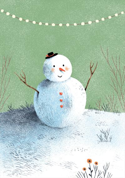 snowman-snow-trees-flowers-jpg