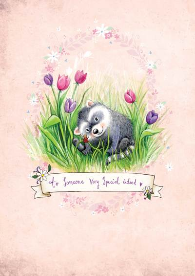 raccoon-parchment-nursery-art-pink-bground-birthday-3lr-jpg